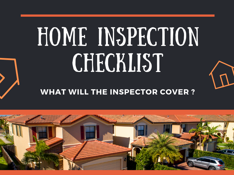 Home Inspector Checklist!